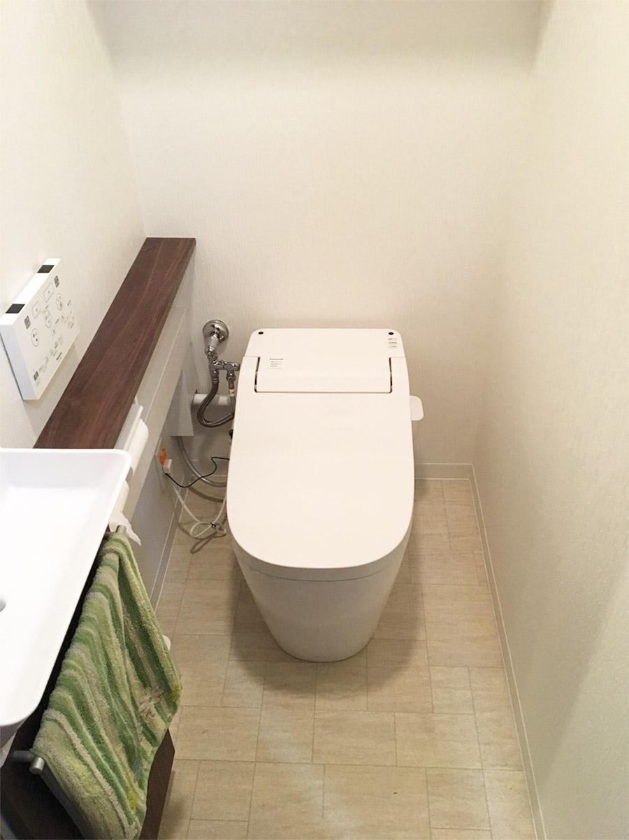 【ダイク株式会社】トイレを一新!