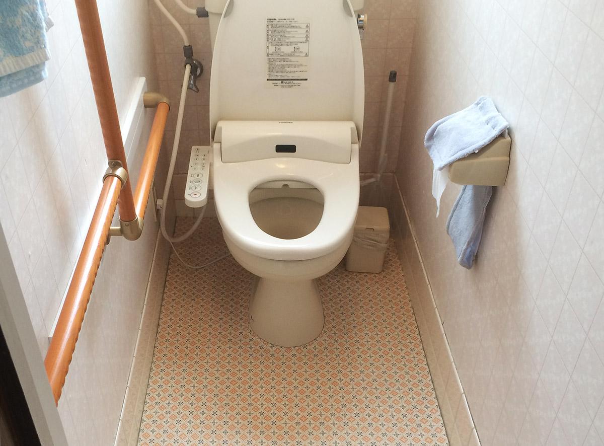福島県Y邸 トイレリフォーム 46万円(※内装工事含)/工期1日間 施工前