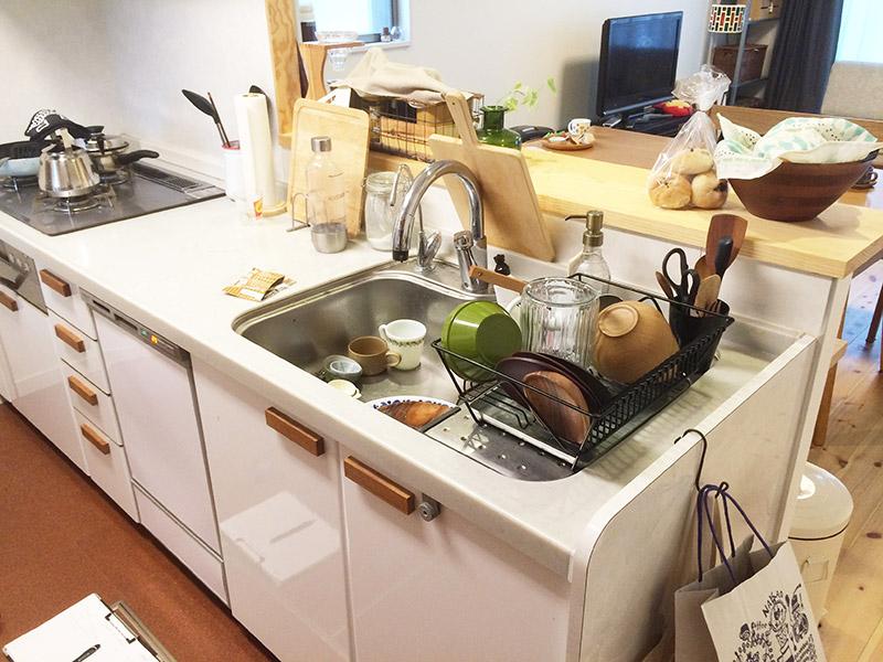 【ダイク株式会社】リビングの雰囲気に合わせたキッチンへ♪