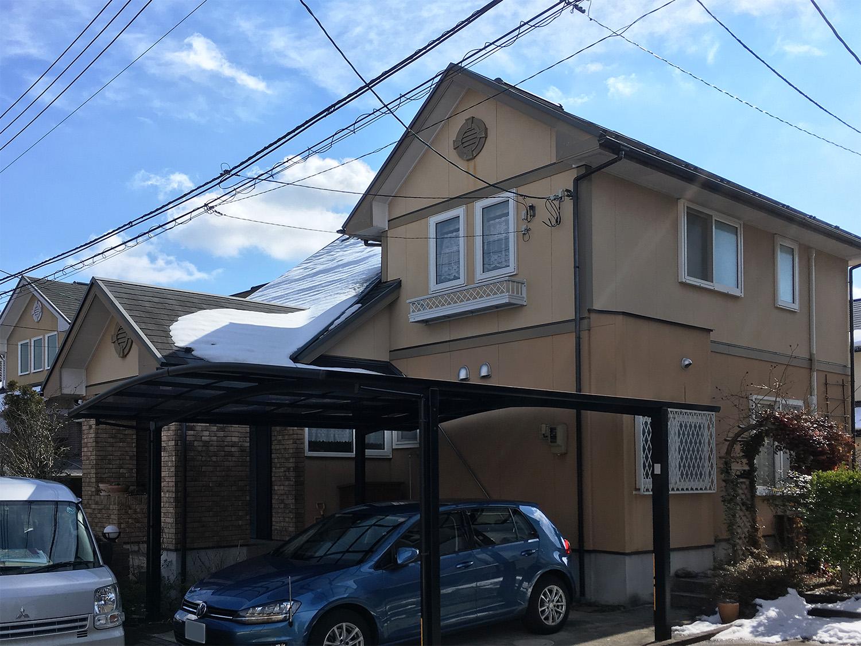 泉区S邸 外壁塗装・外装リフォーム 166万円/工期23日間 施工前