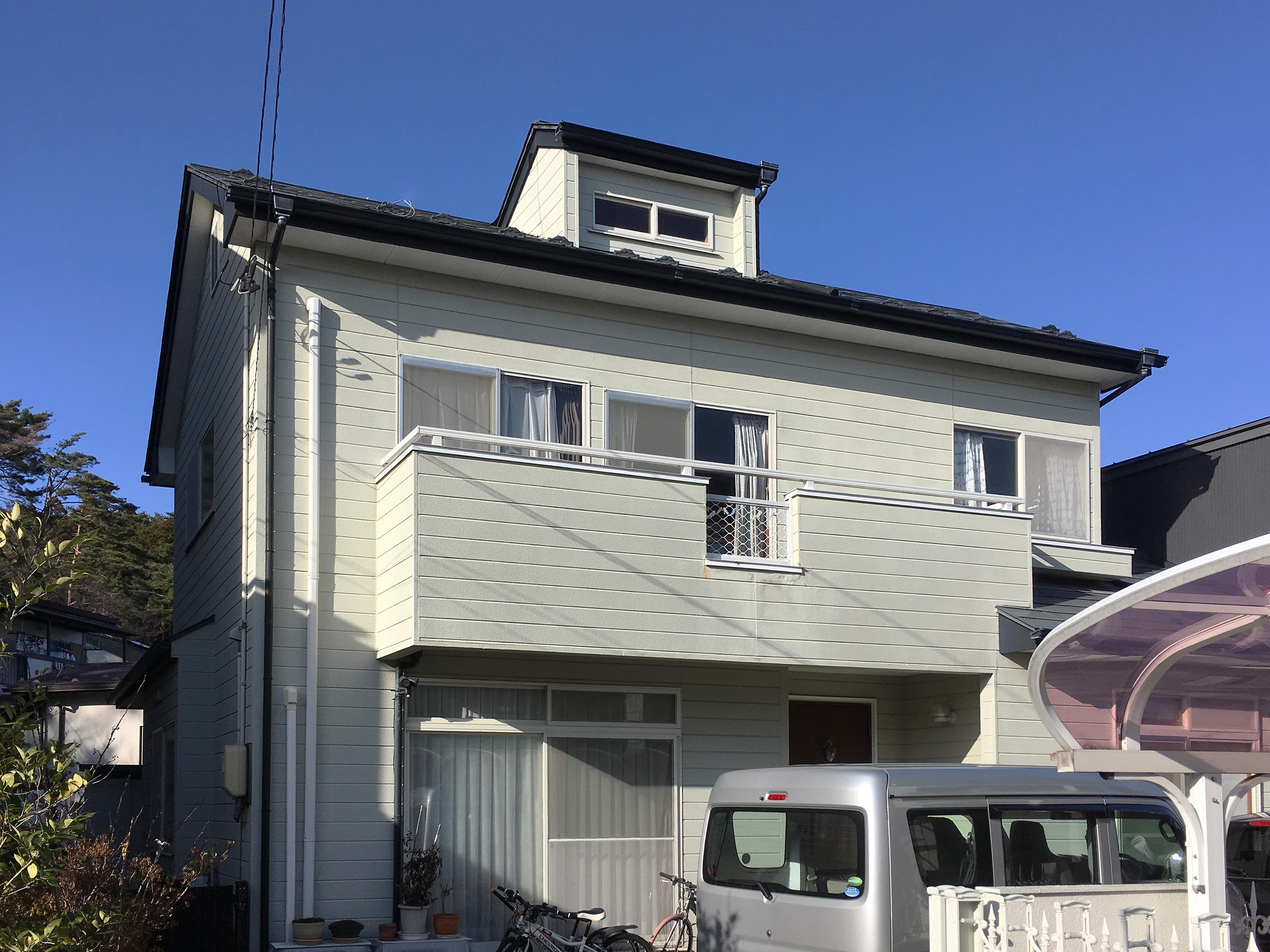 太白区Y邸 外壁塗装・外装リフォーム 182万円/工期30日間 施工前