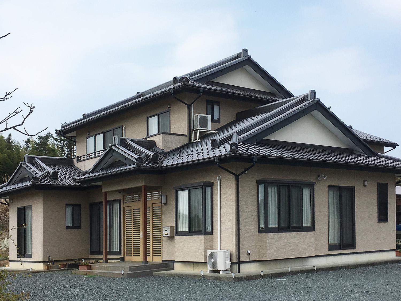 福島県Y邸 外壁塗装・外装リフォーム 162万円/工期16日間 施工前