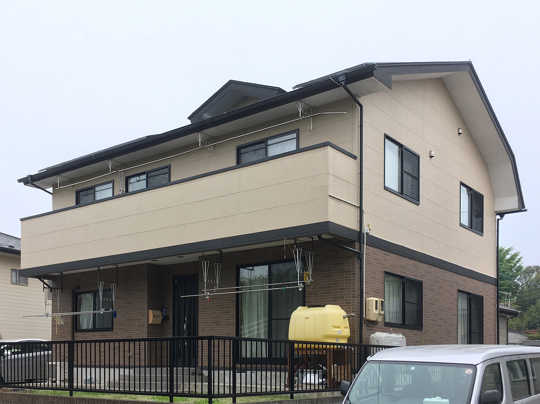 塩釜市T邸 外壁塗装・外装リフォーム 125万円/工期15日間 施工前