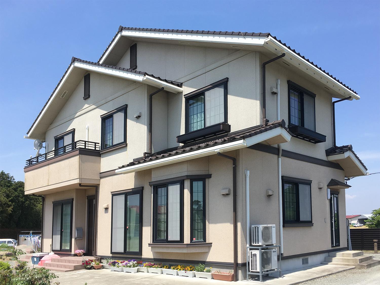 美里町S邸 外壁塗装・外装リフォーム 120万円/工期25日間 施工前