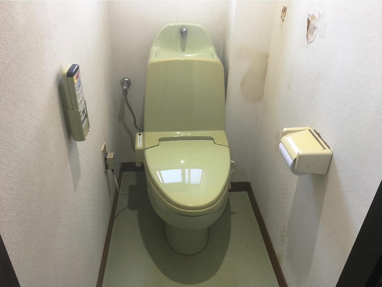 塩釜市S邸 トイレリフォーム 19万円/工期1日間 施工前