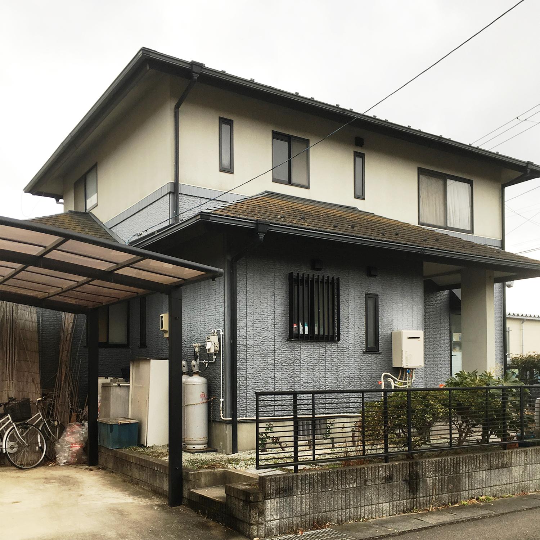 柴田郡Y邸 外壁塗装・外装リフォーム 119万円/工期14日間 施工前