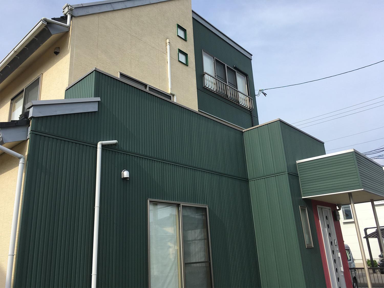 福島県E邸 外壁塗装・外装リフォーム 164万円/工期20日間 施工前