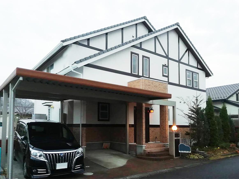 名取市T邸 外壁塗装・外装リフォーム 120万円/工期14日間 施工後