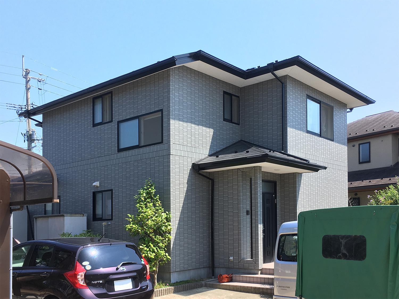 名取市M邸 外壁塗装・外装リフォーム 77万円/工期10日間 施工前