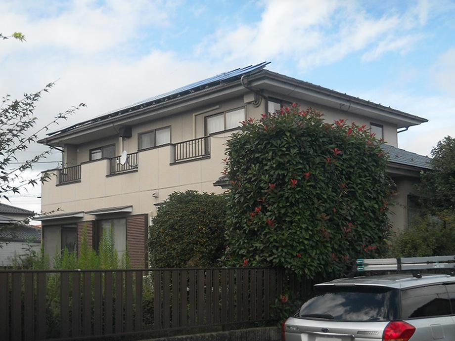 柴田郡T邸 外壁塗装・外装リフォーム 118万円/工期14日間 施工前