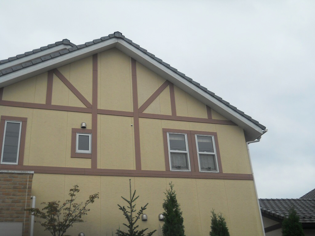 名取市T邸 外壁塗装・外装リフォーム 120万円/工期14日間 施工前