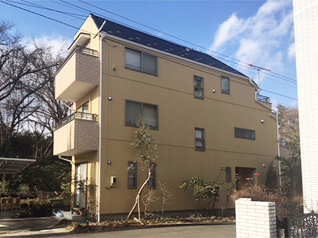 泉区K邸 外壁塗装・外装リフォーム 110万円/工期14日間 施工後