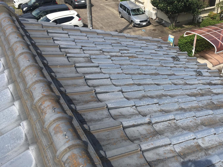 【ダイク株式会社】屋根瓦が古くなり、雨漏れをしているので何とかしたい…