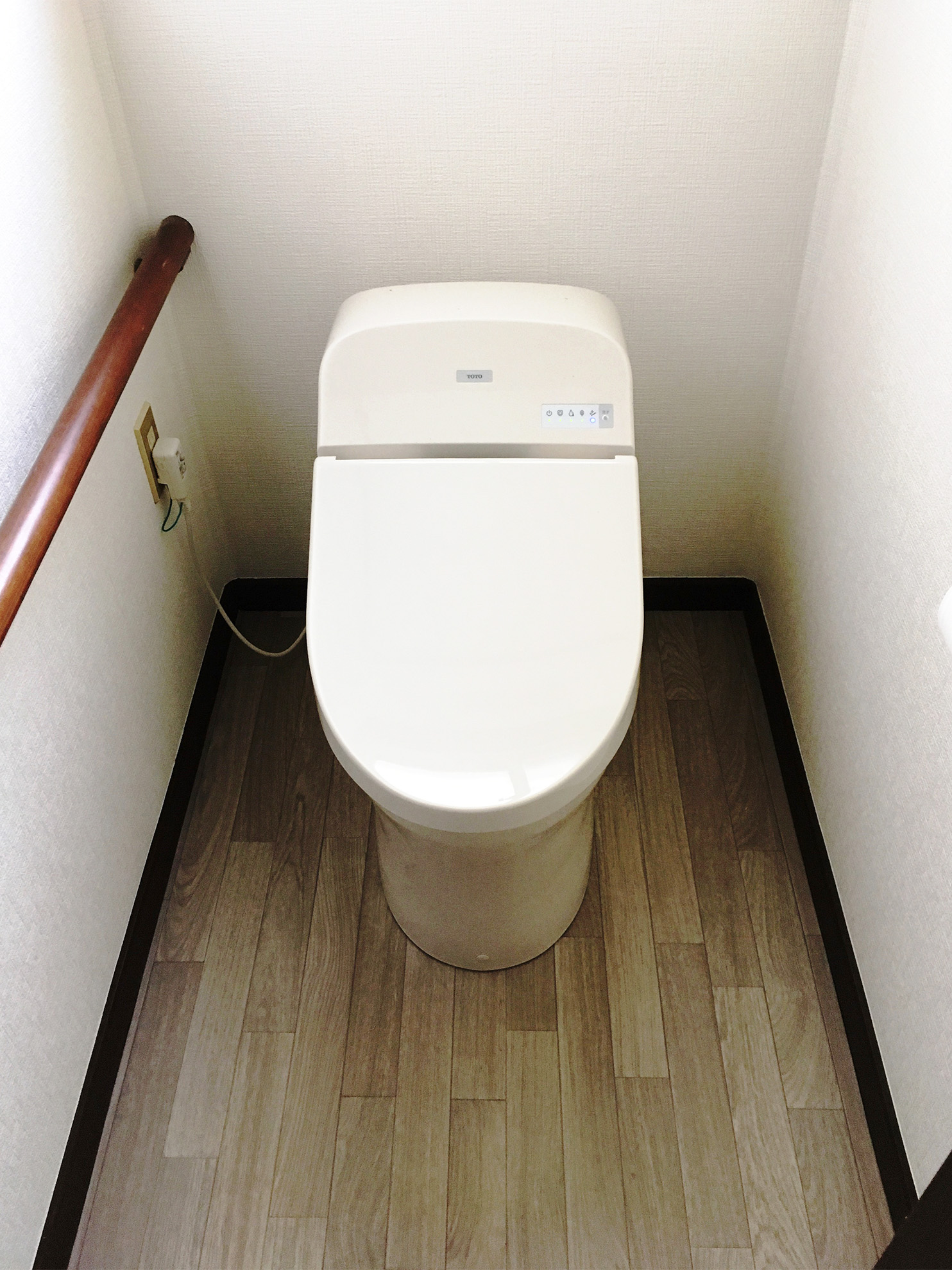 【ダイク株式会社】そろそろ新しいトイレに…と検討していました。