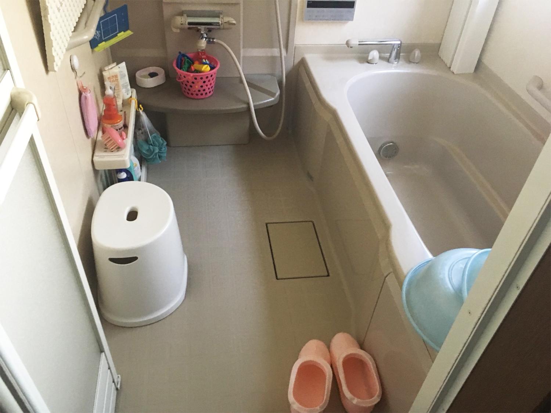 太白区M邸 お風呂リフォーム 100万円/工期7日間 施工前