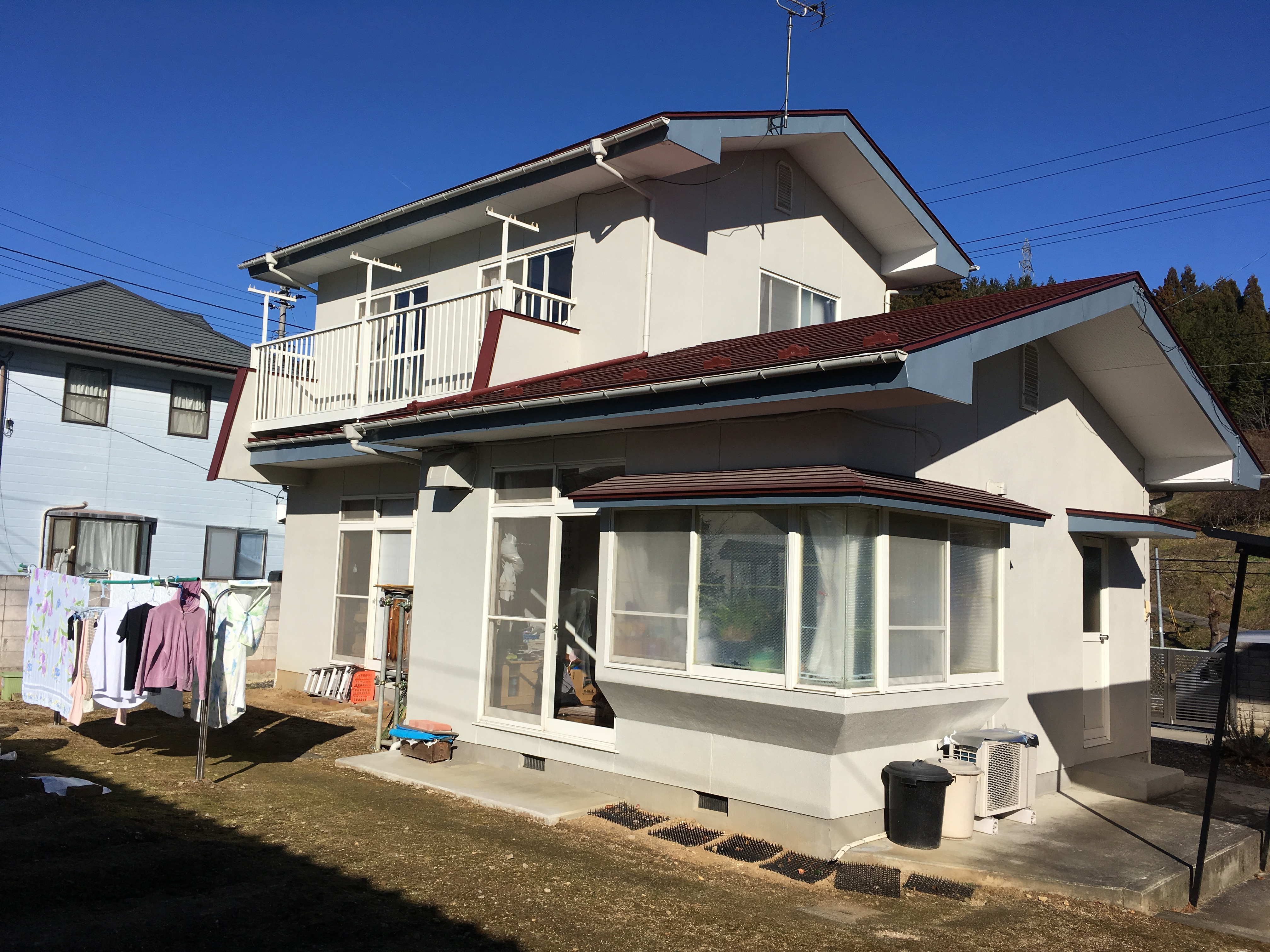 福島県O邸 屋根リフォーム 13.5万円/工期14日間 施工前
