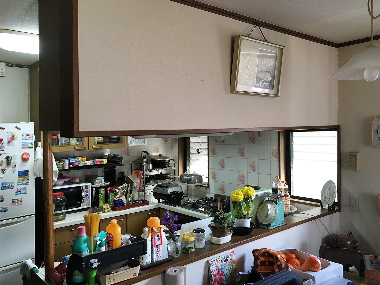 青葉区H邸 キッチンリフォーム 163万円/工期4日間 施工前