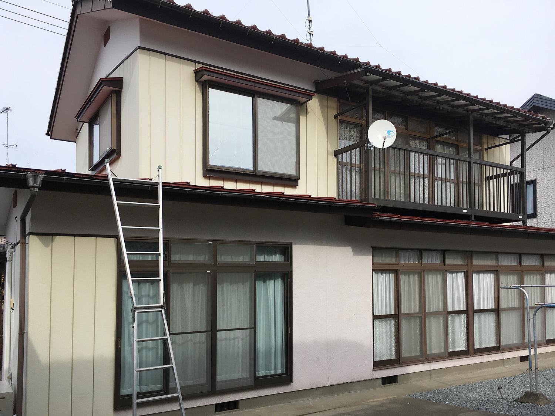 福島県H邸 外装リフォーム 118万円/工期20日間 施工前