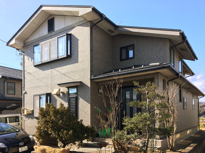 柴田郡F邸 外壁塗装・外装リフォーム 97万円/工期14日間 施工前