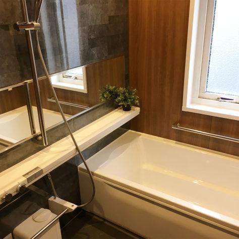 古くなってきた浴室を一新!