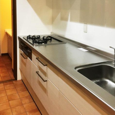 収納力のあるキッチンで使いやすさが向上!