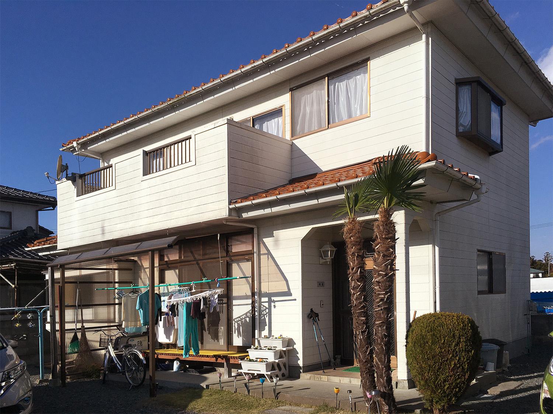 南相馬市N邸 外壁塗装・外装リフォーム 170万円/工期25日間 施工前