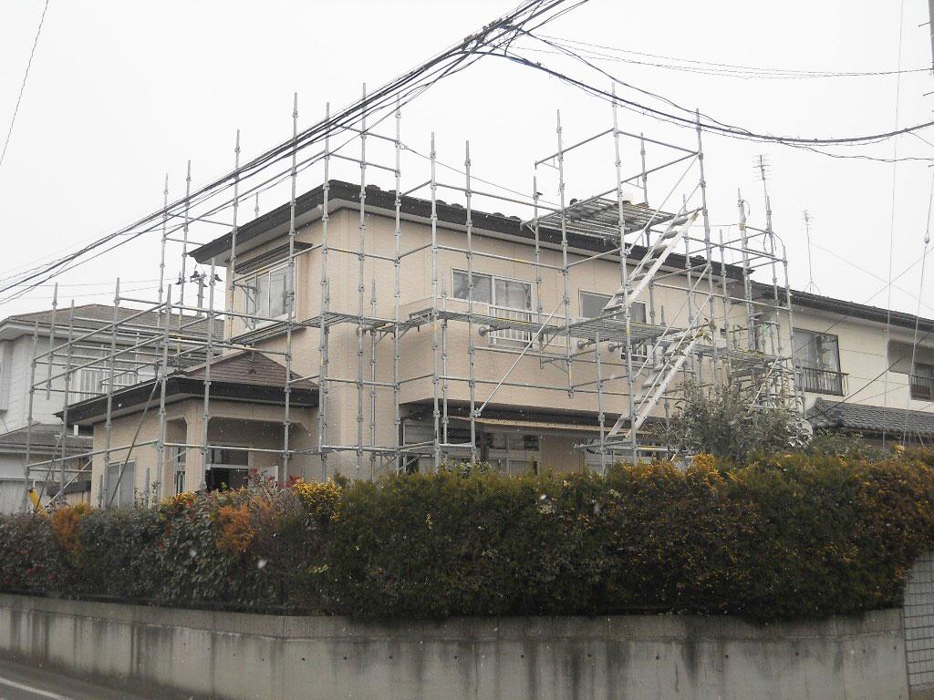 宮城野区K邸 外壁塗装・外装リフォーム 250万円/工期30日間 施工前