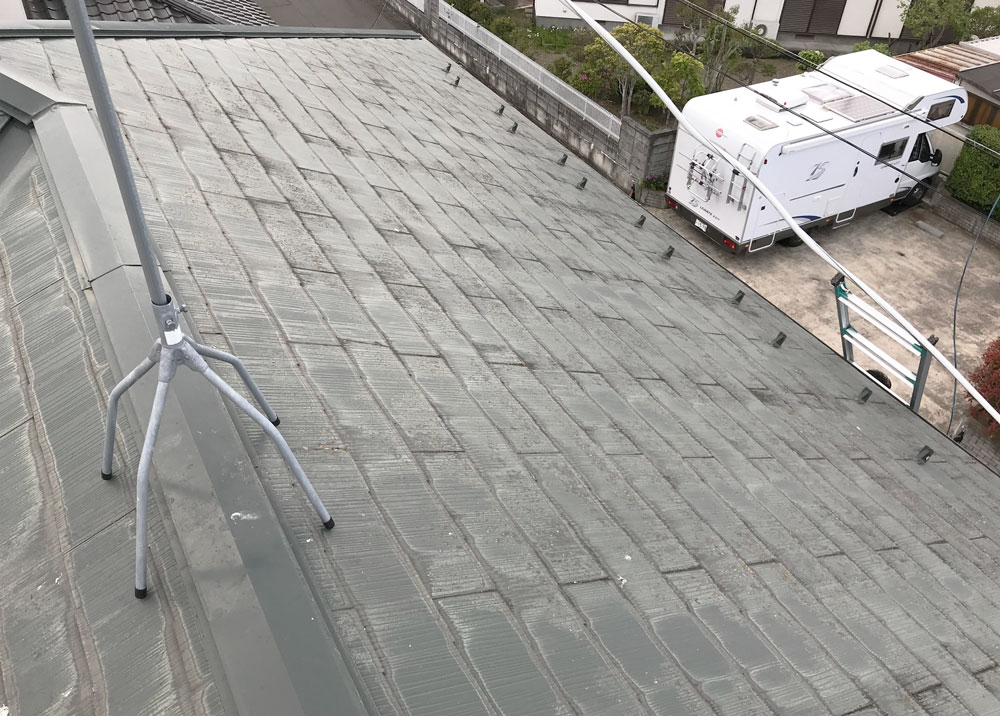 柴田郡S邸 外壁塗装・外装リフォーム 72万円/工期10日間 施工前