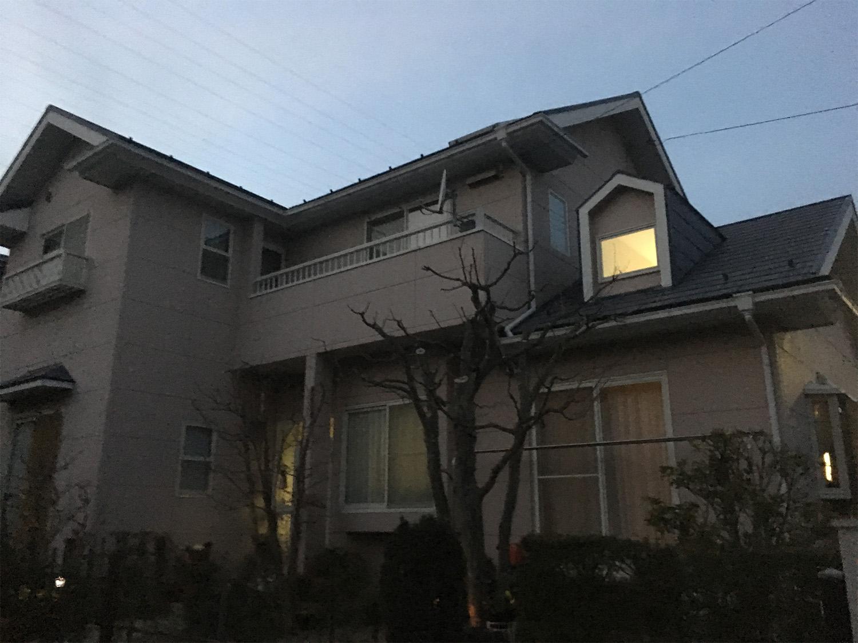 泉区W邸 外壁塗装・外装リフォーム 90万円/工期17日間 施工前