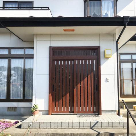 断熱扉で冬でもあったか⛄ 玄関ドア改修!