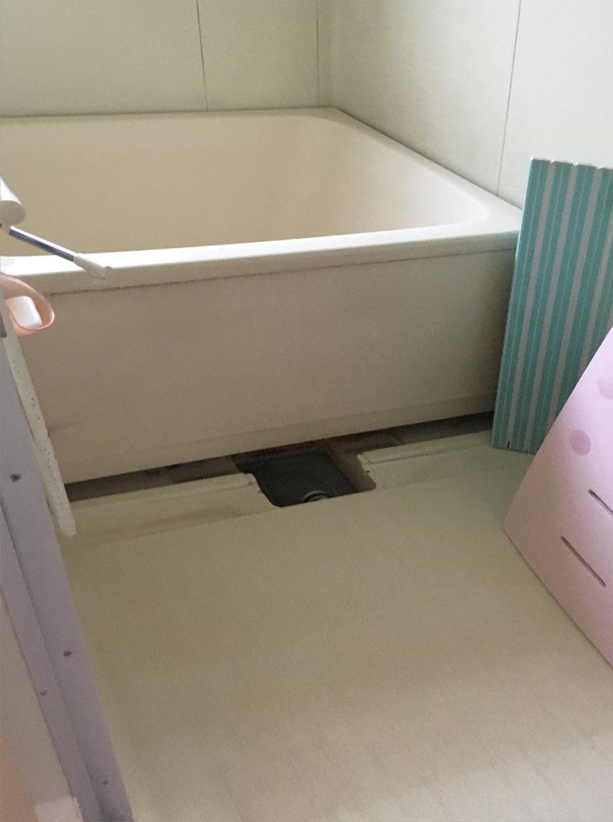黒川郡M邸 お風呂リフォーム 173.8万円/工期7日間 施工前