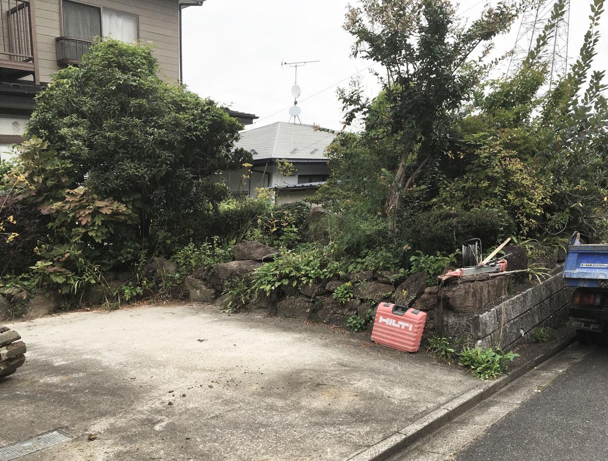 青葉区E邸 エクステリアリフォーム 120万円/工期14日間 施工前