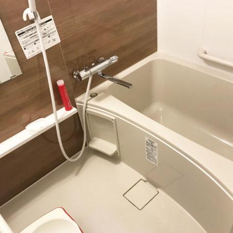 タイル張りからユニットバスへお風呂リフォーム