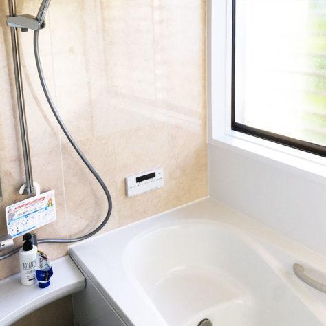 キレイな浴室でくつろぎのバスタイム🛀 浴室改修工事