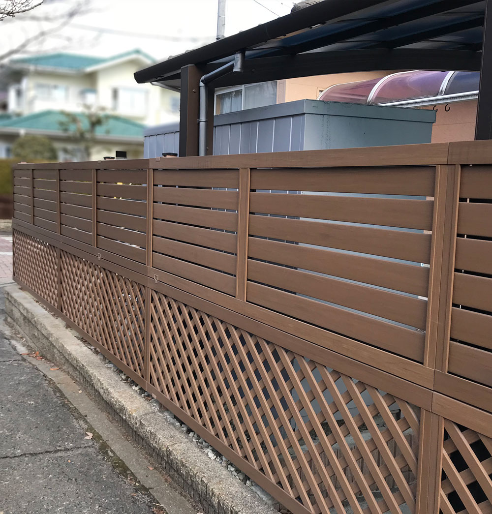 仙台市K邸 エクステリアリフォーム 247万円(既存フェンス撤去費用含む)/工期11日間 施工後