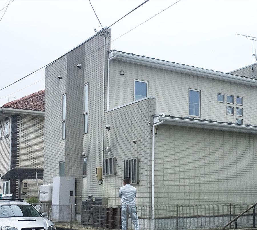 岩沼市N邸 外壁塗装・外装リフォーム 170万円/工期50日間 施工前