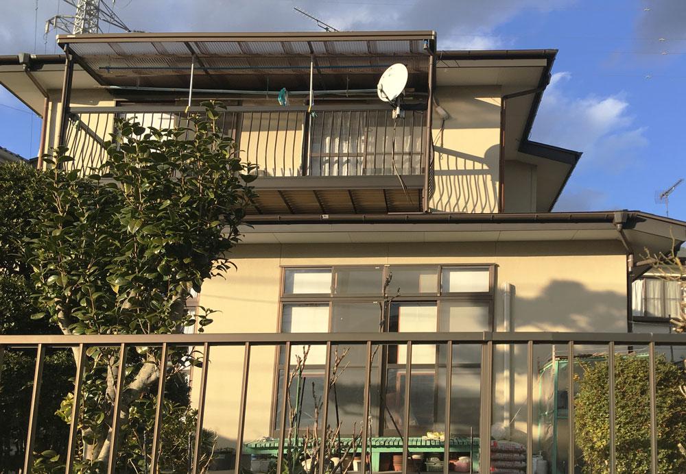 塩竈市H邸 外壁塗装・外装リフォーム 90万円/工期10日間 施工前