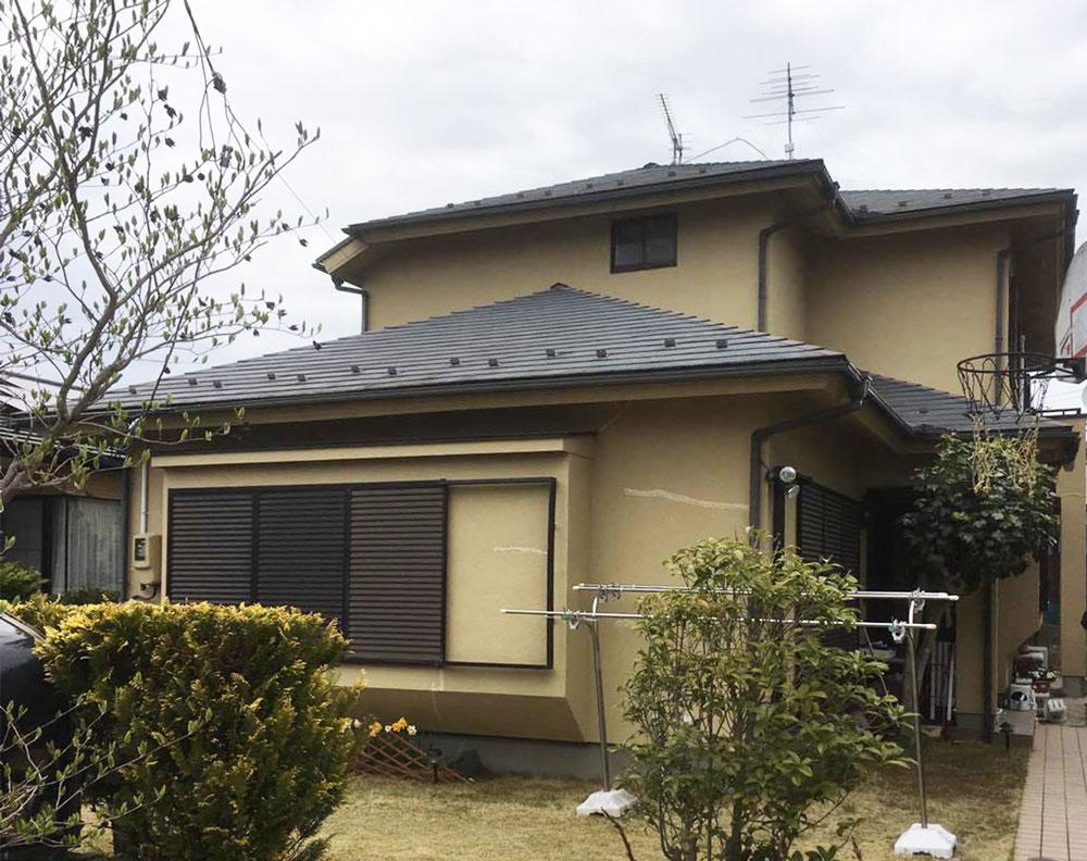 松島町T邸 外壁塗装・外装リフォーム 100万円/工期23日間 施工前