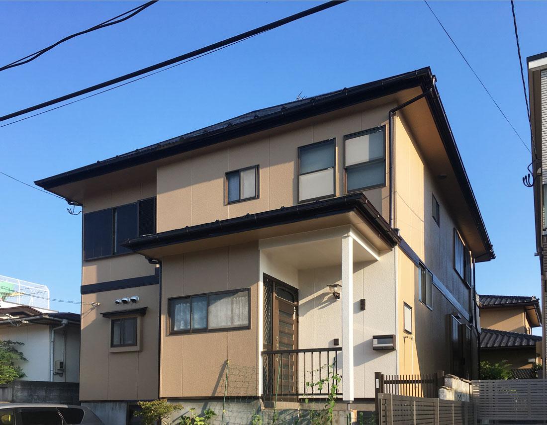 青葉区S邸 外壁塗装・外装リフォーム 92.5万円/工期20日間 施工後
