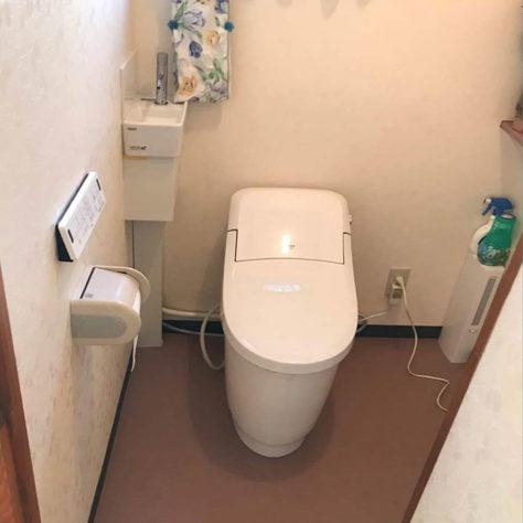 トイレ改修で雰囲気も一新🚽 節水もできる嬉しいリフォーム