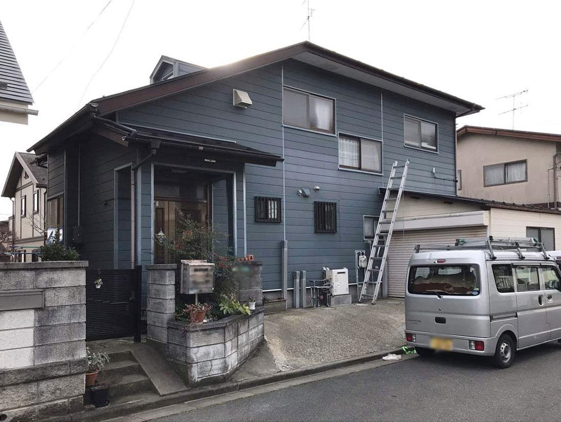 泉区O邸 外壁塗装・外装リフォーム 112.5万円/工期14日間 施工前