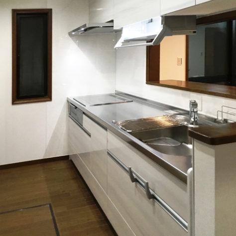 収納が少ないキッチンをリフォームして使いやすい空間へ✨
