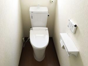 トイレ交換工事_施工後