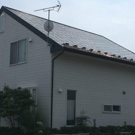 屋根を工事してピカピカに✨ 無機塗料で長持ち快適!