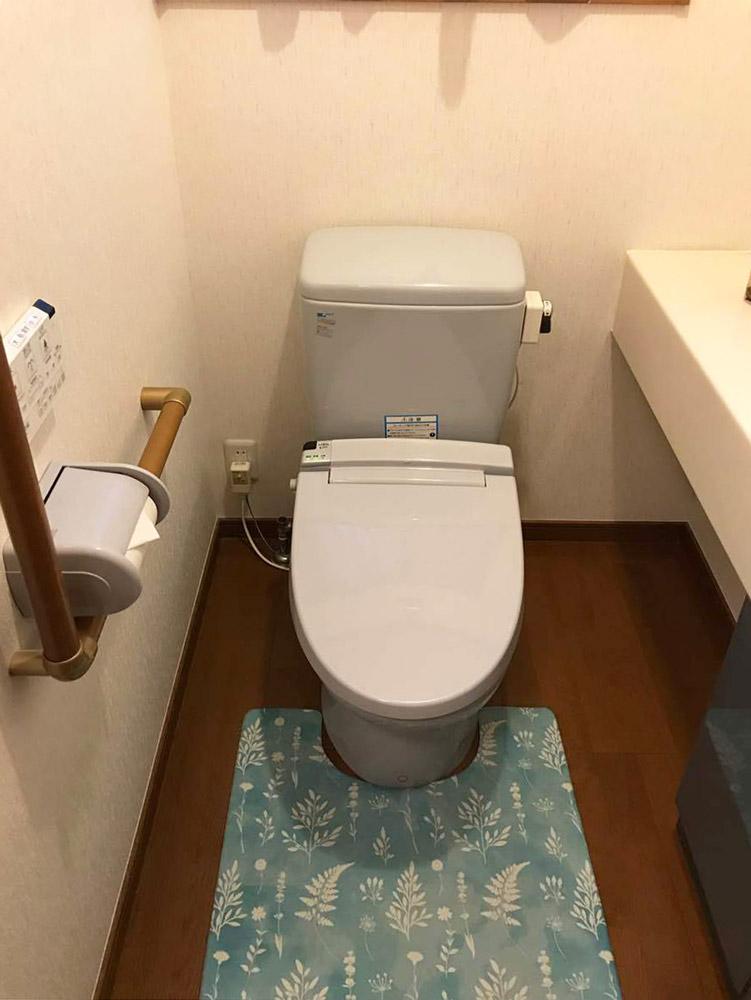 宮城県K邸 トイレリフォーム 40万円台(2台分)/工期1日間 施工前