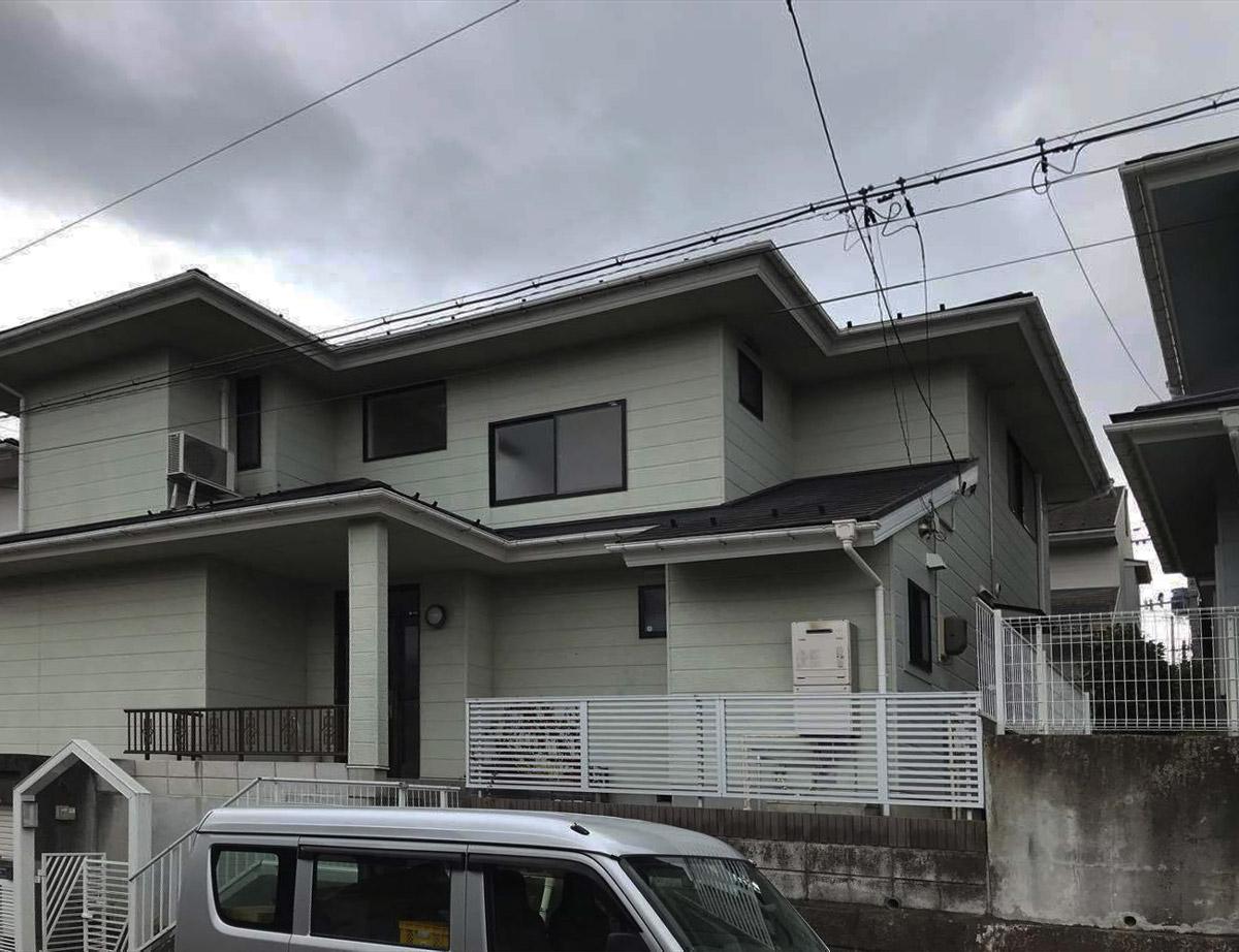 青葉区K邸 外壁塗装・外装リフォーム 100万円台前半/工期16日間 施工前