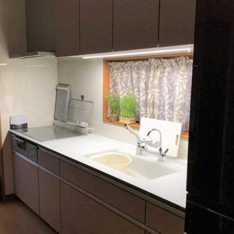 キッチン全面リフォームでお気に入りの空間に!