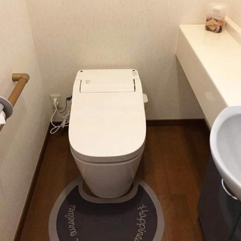 スッキリきれいなトイレで快適に🚽