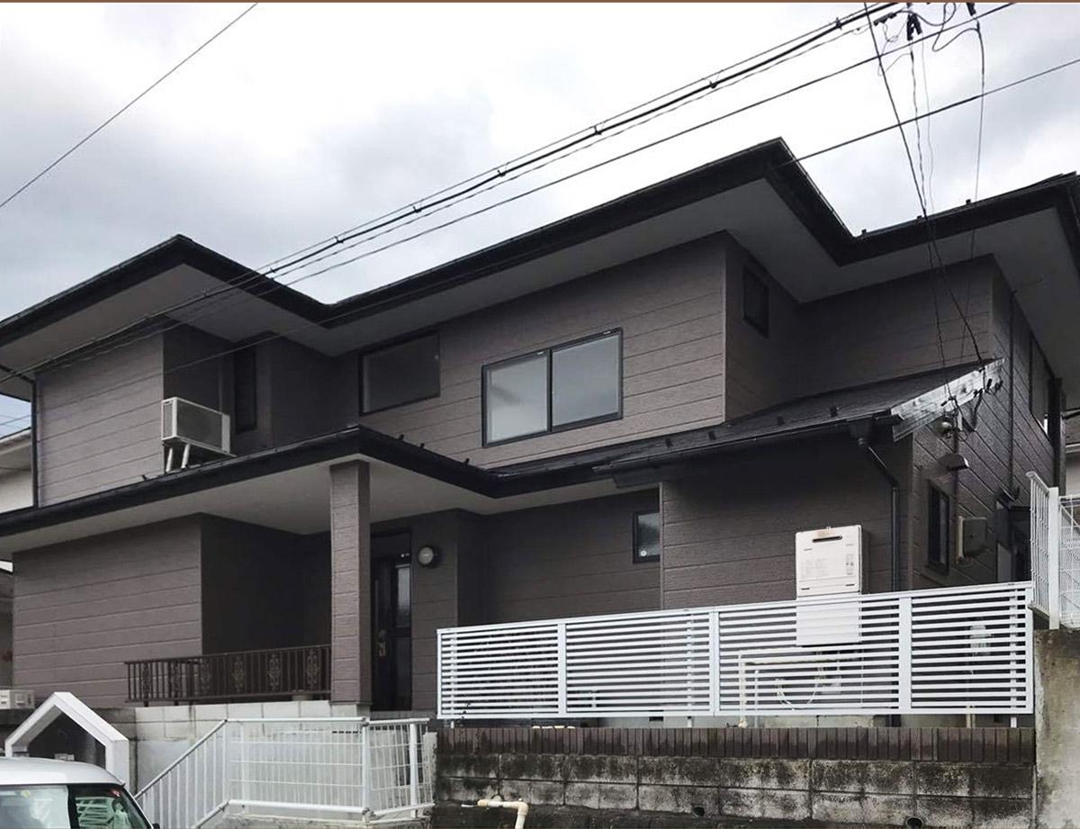 青葉区K邸 外壁塗装・外装リフォーム 100万円台前半/工期16日間 施工後