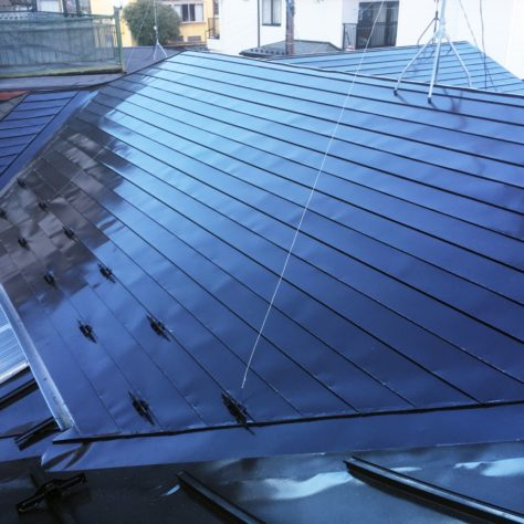 錆の出てきた屋根を塗装 ピカピカにリフォーム🏡